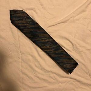 Vintage Oscar de la Renta 100% Silk Men's Neck Tie